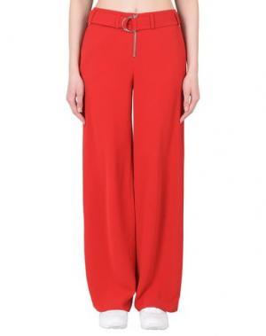 Повседневные брюки TWIST & TANGO. Цвет: красный