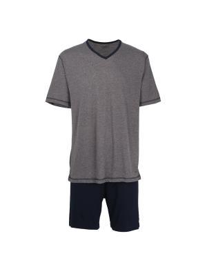 Пижама CECEBA. Цвет: серый меланж