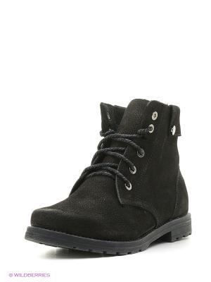 Ботинки ЭГО. Цвет: черный