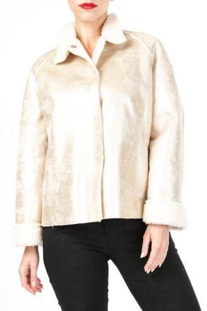 Куртка DONNA ENRICA. Цвет: золотой