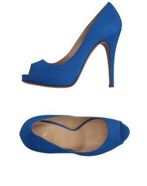 Туфли SEMILLA. Цвет: лазурный
