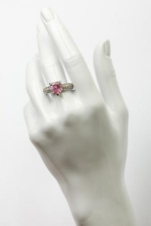 Кольцо FRANSUA ARDY. Цвет: розовый