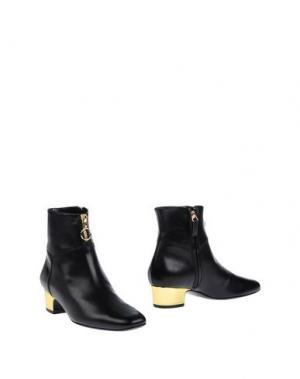 Полусапоги и высокие ботинки MICHEL VIVIEN. Цвет: черный