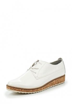 Ботинки Marco Tozzi. Цвет: белый
