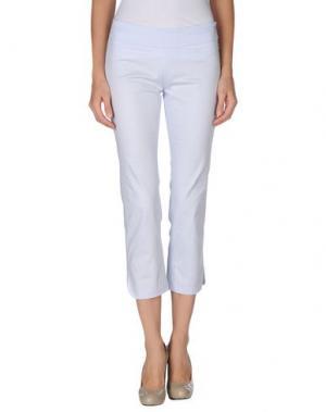 Повседневные брюки METRADAMO. Цвет: сиреневый