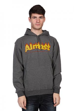 Кенгуру  Flaming Logo Gunmetal Heather Almost. Цвет: серый