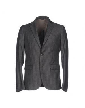 Пиджак J.W. TABACCHI. Цвет: свинцово-серый