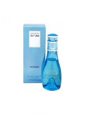 Cool Water, Туалетная вода, 50 мл DAVIDOFF. Цвет: голубой