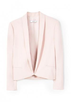 Пиджак Mango. Цвет: розовый