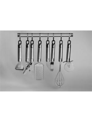 Набор кухонных принадлежностей EXQUISITE Koch Systeme. Цвет: серебристый
