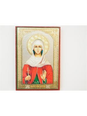 Именная икона Наталья Bethlehem Star. Цвет: коричневый