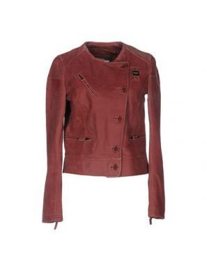 Куртка BLAUER. Цвет: кирпично-красный