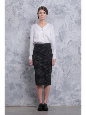 Блуза Marlen. Цвет: белый