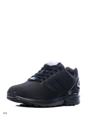 Кроссовки ZX FLUX W  CBLACK/CBLACK/CBLACK Adidas. Цвет: черный