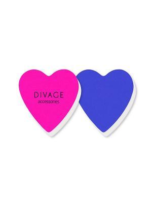 Набор полировочных бафферов dolly collection DIVAGE. Цвет: синий