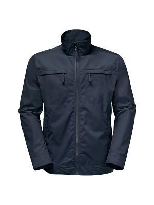 Куртка CAMIO ROAD JACKET Jack Wolfskin. Цвет: темно-синий