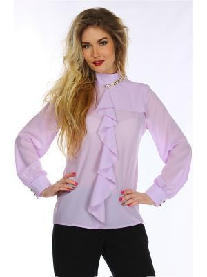 Блузки Alpama. Цвет: лиловый