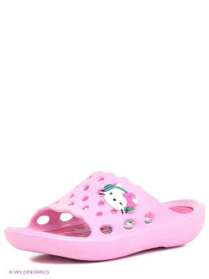 Шлепанцы Kakadu. Цвет: розовый