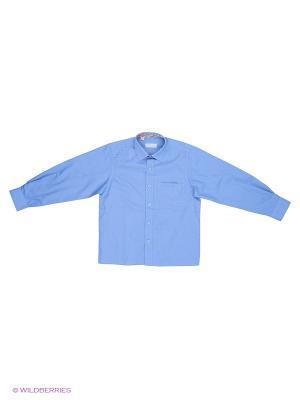 Рубашка Fortunato. Цвет: синий