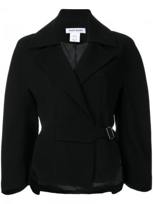 Куртка Crepe Corsetiere Bianca Spender. Цвет: чёрный