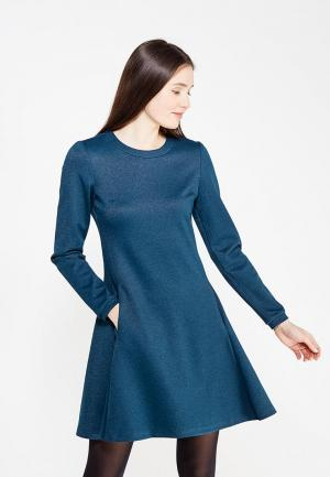 Платье Kristina Kapitanaki. Цвет: синий
