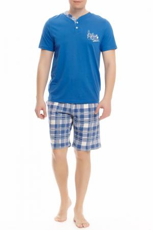 Пижама с шортами Relax Mode. Цвет: мультицвет