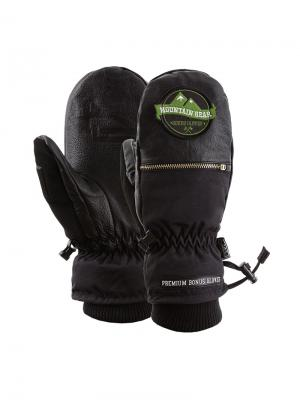 Варежки Bonus Gloves. Цвет: черный