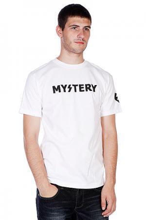 Футболка  Logo White Mystery. Цвет: белый