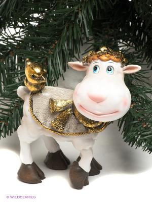 Статуэтка Mister Christmas. Цвет: белый, золотистый