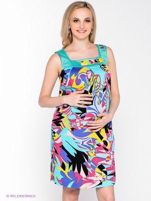 Платье UNIOSTAR. Цвет: зеленый, бордовый, голубой, желтый