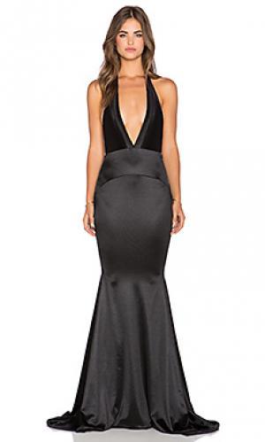 Вечернее платье las lasciiv Gemeli Power. Цвет: черный