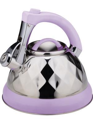 Чайник 3,5л. BOHMANN. Цвет: фиолетовый