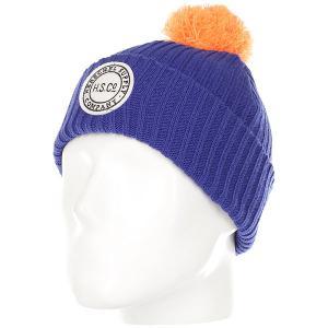 Шапка детская  Alpine Youth Surf Web/Tangerine Herschel. Цвет: синий,оранжевый