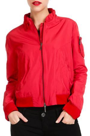 Куртка PAMELA MILANO. Цвет: красный