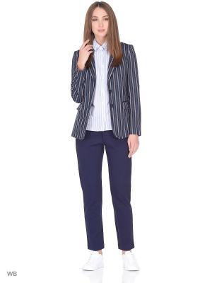 Пиджак Sisley. Цвет: черный, белый, зеленый