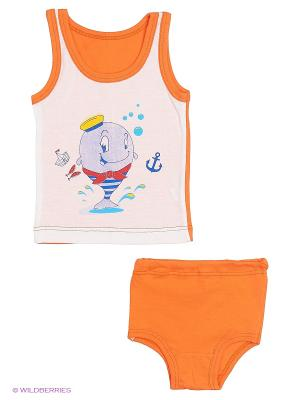 Комплекты одежды для малышей Русь симбирская. Цвет: оранжевый
