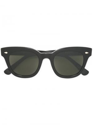 Солнцезащитные очки Dylan Zero Epøkhe. Цвет: чёрный