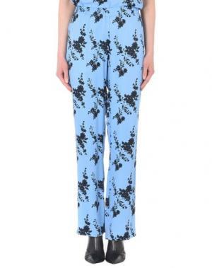 Повседневные брюки SAMSØE Φ. Цвет: пастельно-синий