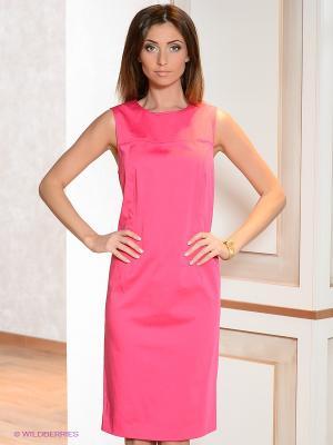 Платье Elegance. Цвет: фуксия