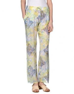 Повседневные брюки MOSAIQUE. Цвет: желтый