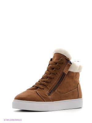 Ботинки Patrol. Цвет: коричневый