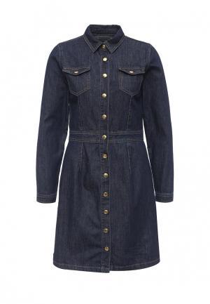 Платье джинсовое BlendShe. Цвет: синий