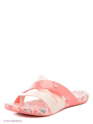 Пантолеты ZAXY. Цвет: бежевый, розовый