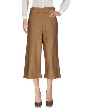 Повседневные брюки AVN. Цвет: верблюжий