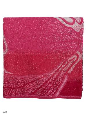 Полотенце махровое пестротканое жаккардовое Цветик - семицветик Авангард. Цвет: розовый