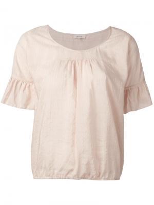Блузка Harlem Bellerose. Цвет: розовый и фиолетовый