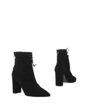 Полусапоги и высокие ботинки ANDREA CATINI. Цвет: черный