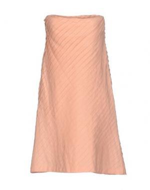 Короткое платье TWENTY8TWELVE. Цвет: абрикосовый