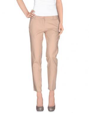 Повседневные брюки LA KORE. Цвет: пастельно-розовый