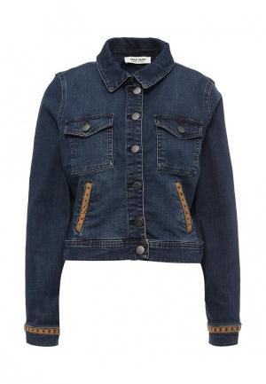 Куртка джинсовая Naf. Цвет: синий